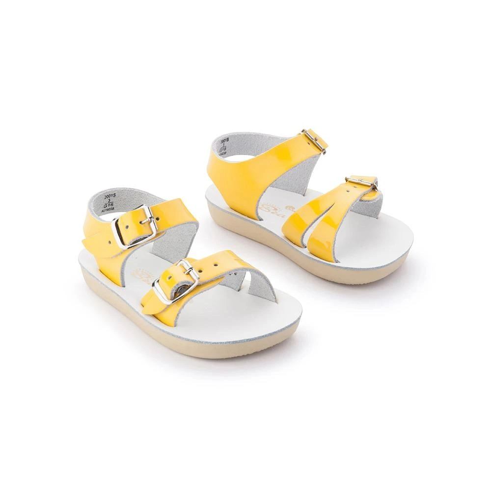 Salt water sandals yellow