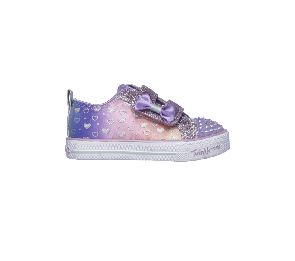 INFANT GIRLS' TWINKLE TOES: SPARKLY HEARTS