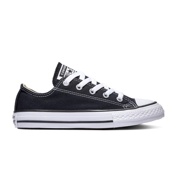 CHUCK TAYLOR ALL STAR JUNIOR LOW TOP BLACK
