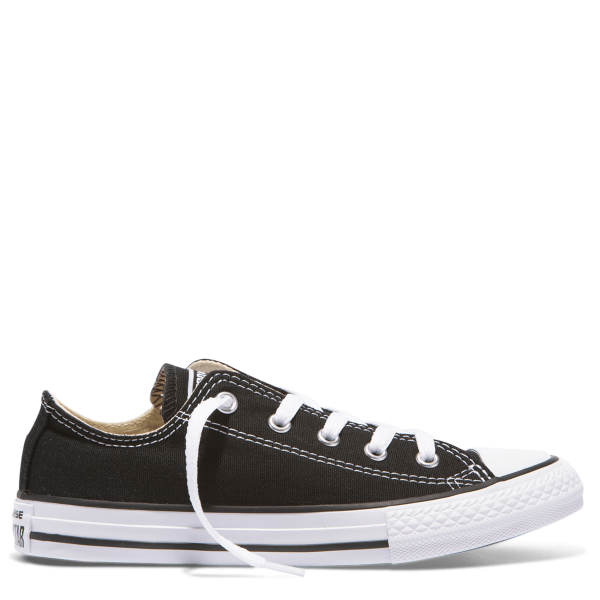 Chuck Taylor All Star Junior Low Top Black left side