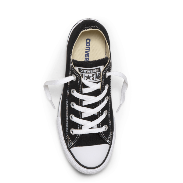 Chuck Taylor All Star Junior Low Top Black top
