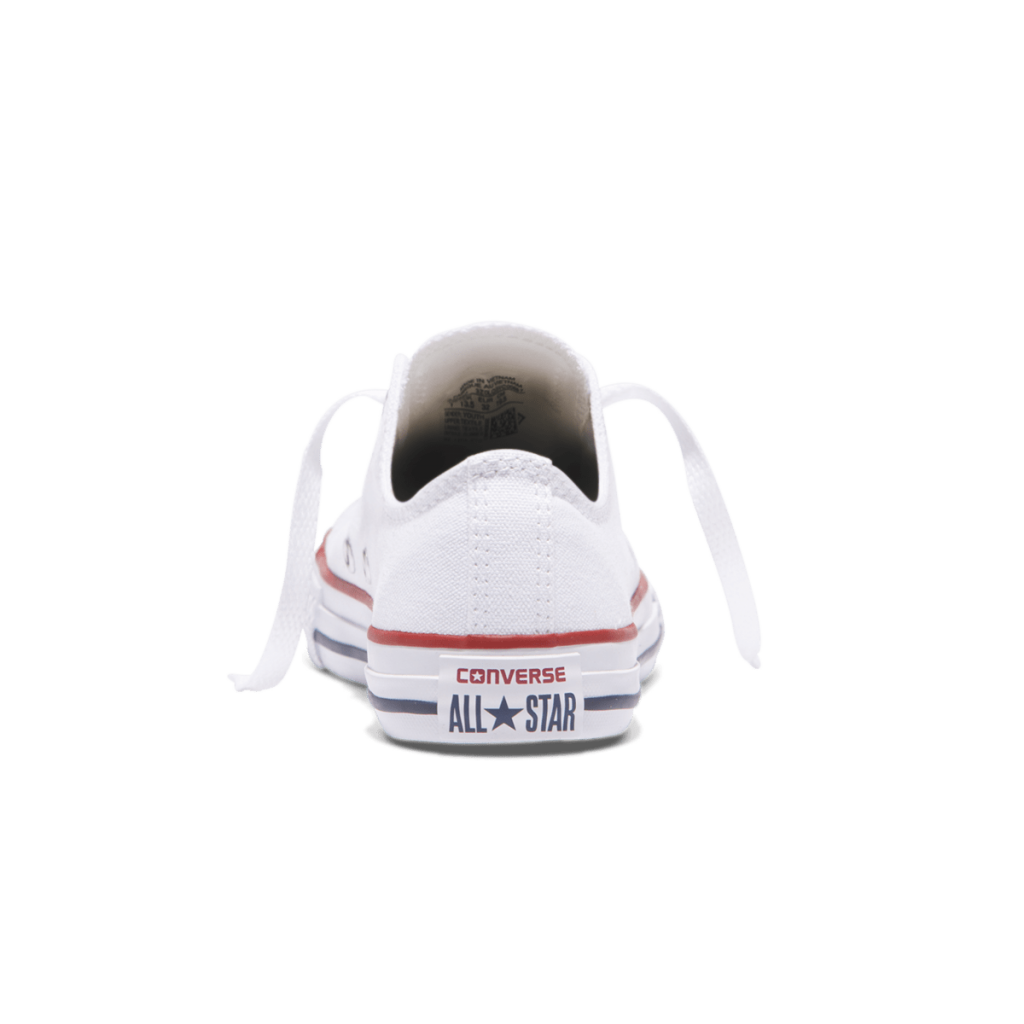 CHUCK TAYLOR ALL STAR JUNIOR LOW TOP WHITE