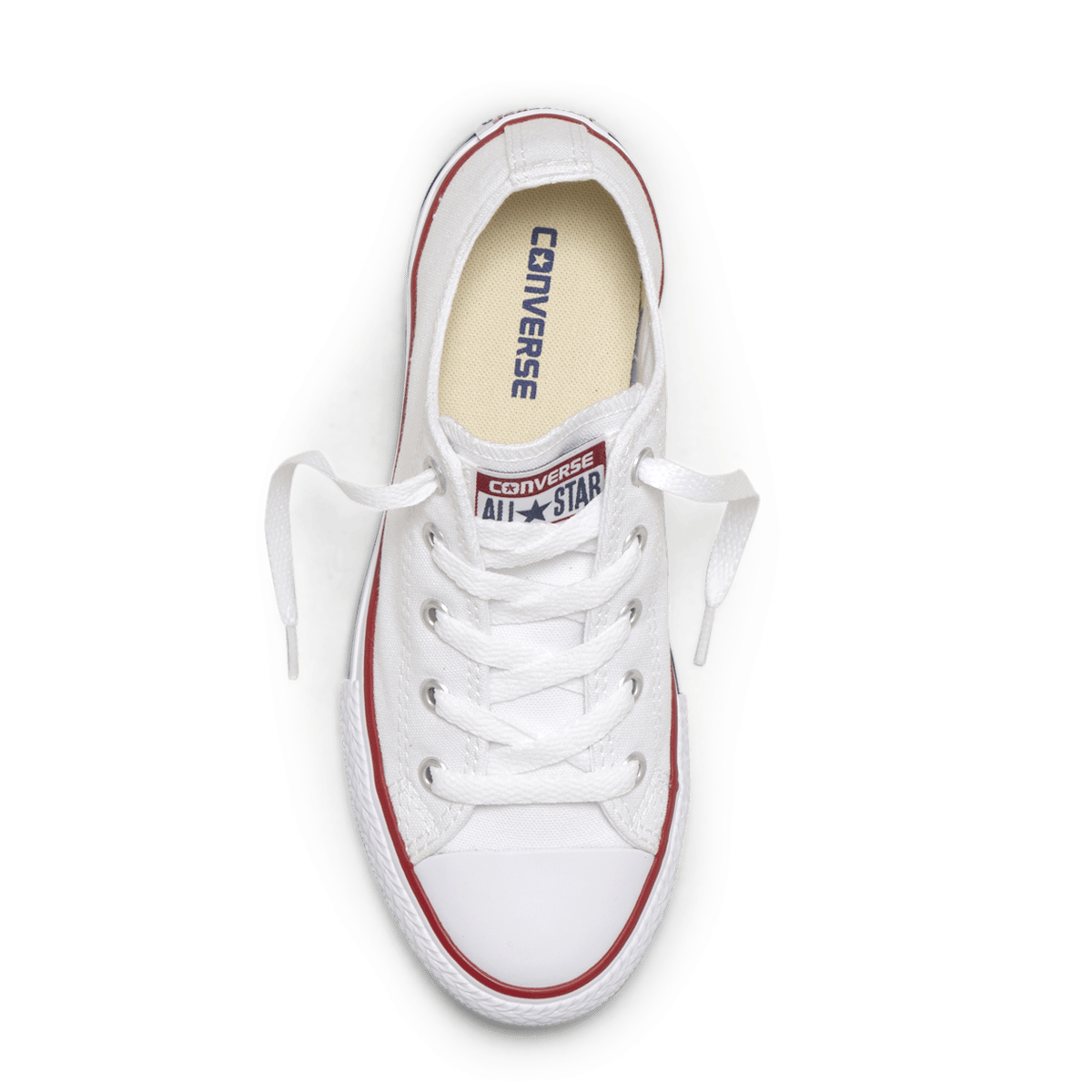 Chuck Taylor All Star Junior Low Top White top image