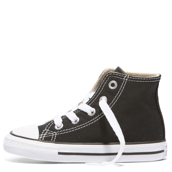 Chuck Taylor All Star Toddler High Top Black left side