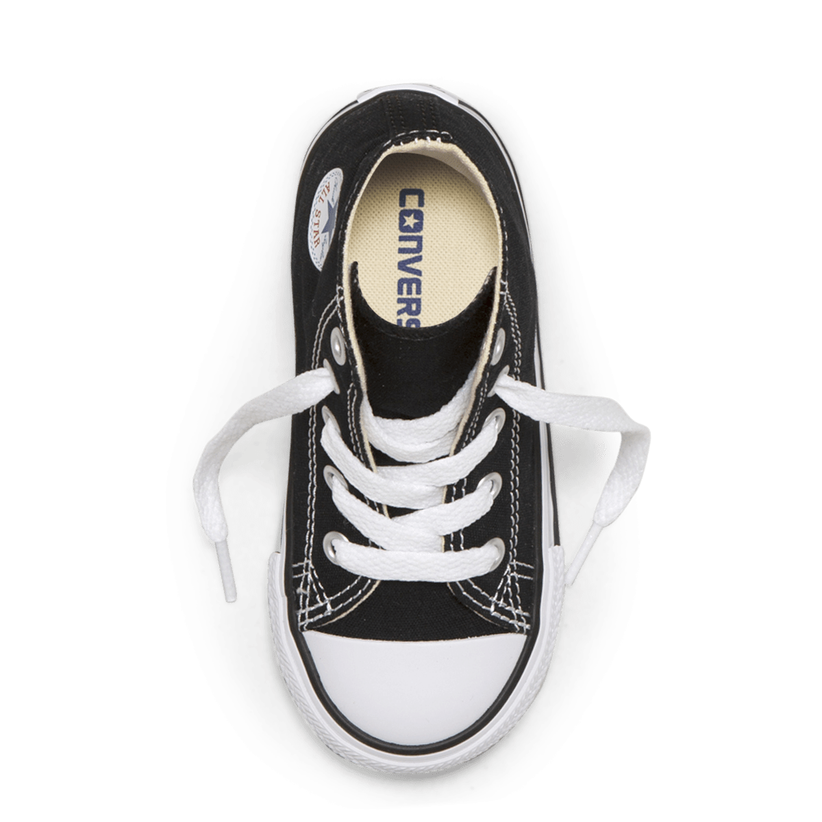 Chuck Taylor All Star Toddler High Top Black top image