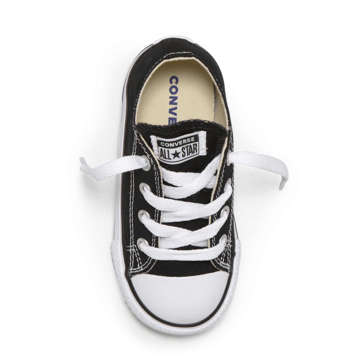 Chuck Taylor All Star Toddler Low Top black top image