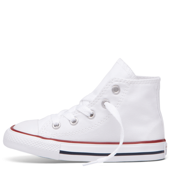 Chuck Taylor All Star Toddler High Top White left side