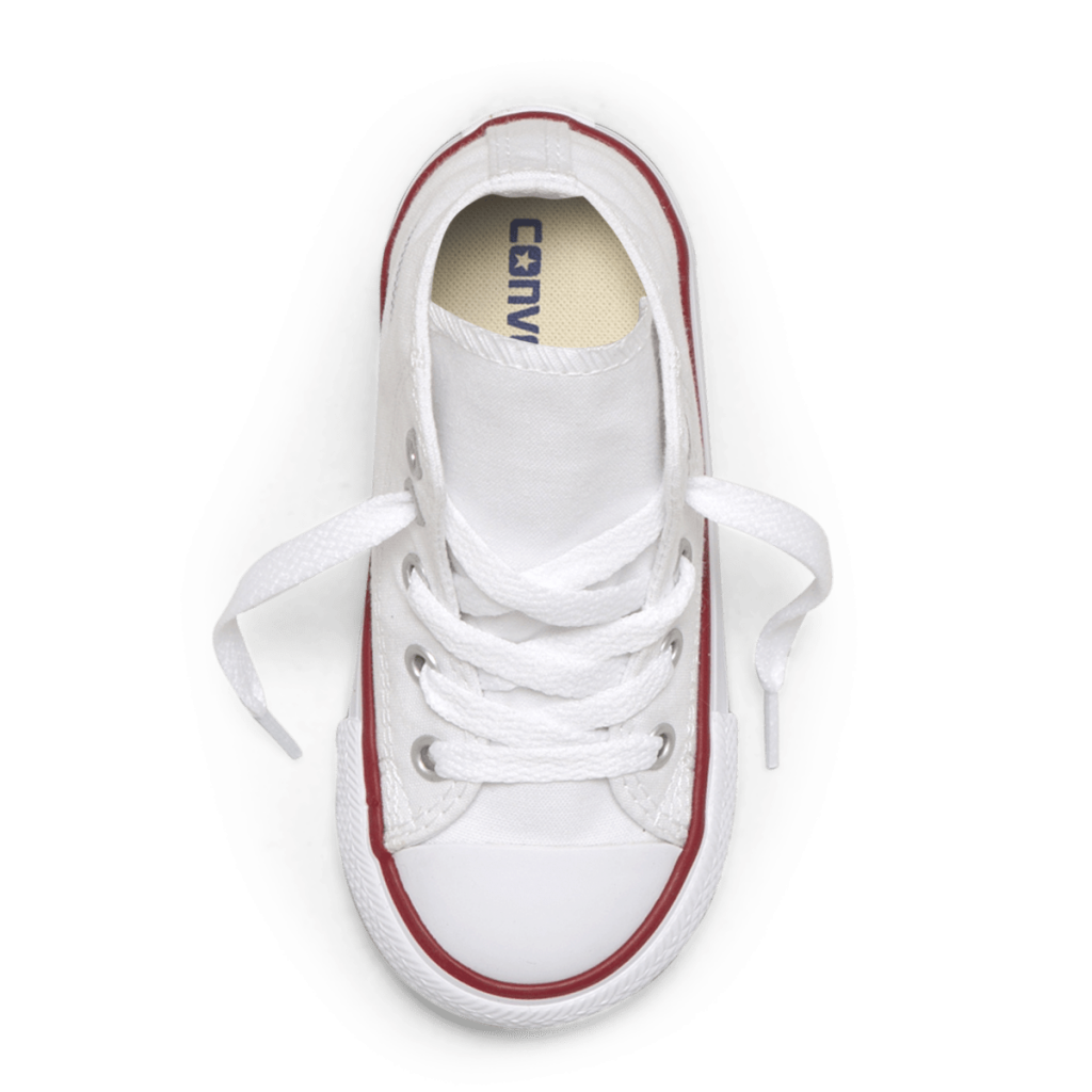 Chuck Taylor all star toddler high top white top image