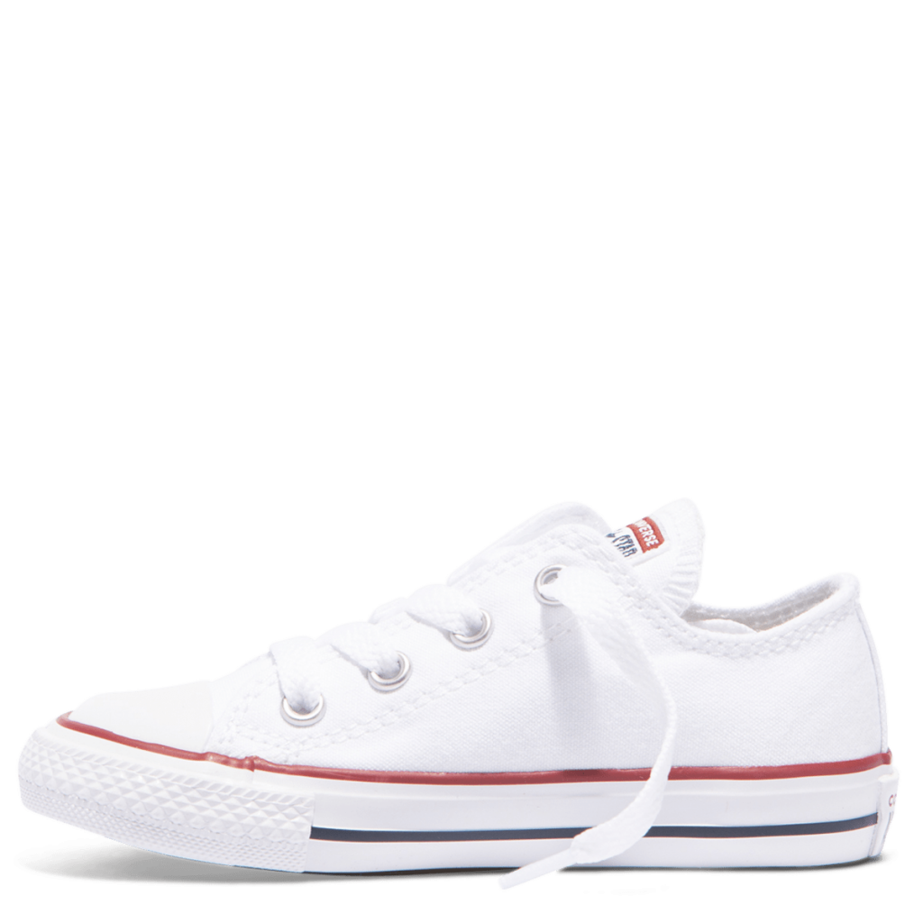 Chuck Taylor All Star Toddler Low Top White left side