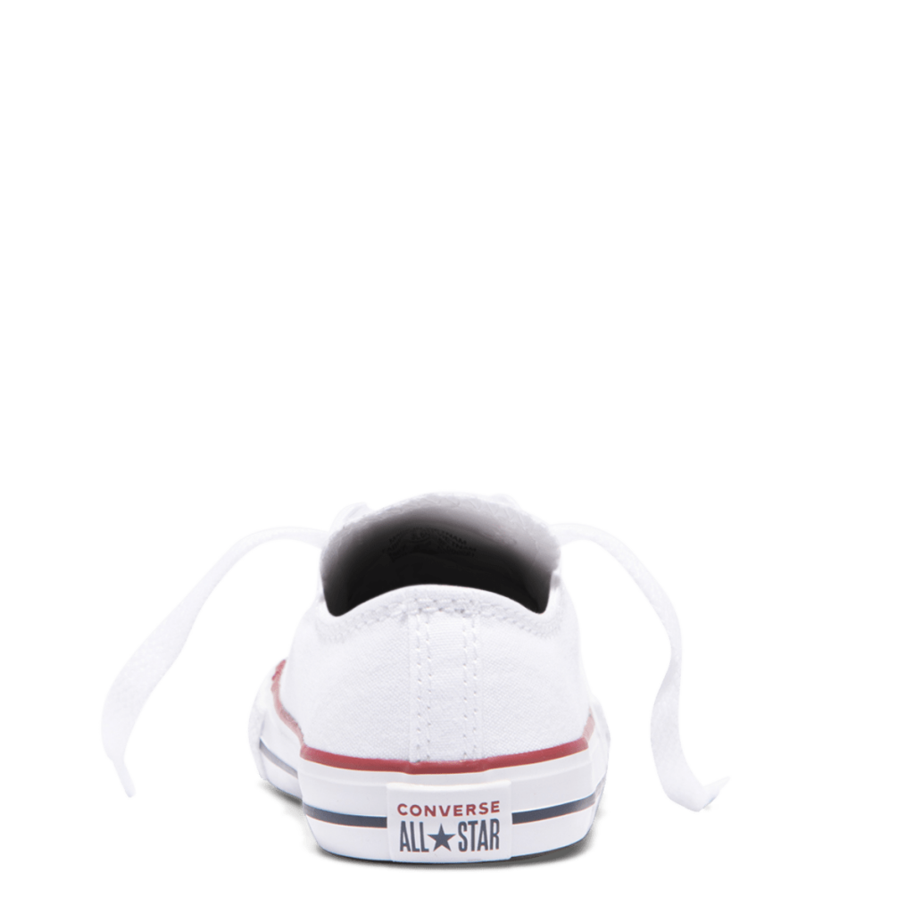 Chuck Taylor All Star Toddler Low Top White back side