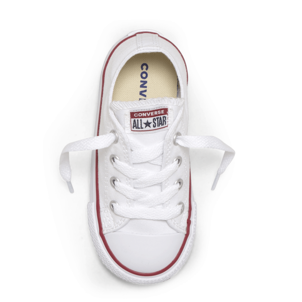 Chuck Taylor All Star Toddler Low Top White top image