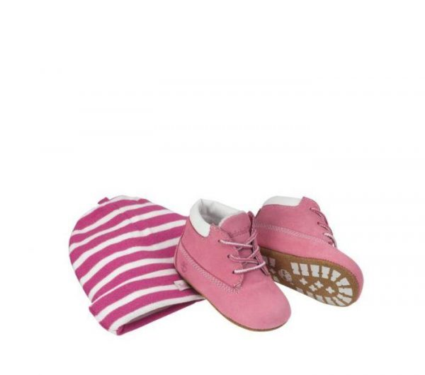 Timberland Crib Bootie Fuschia rose colour boots for toddlers