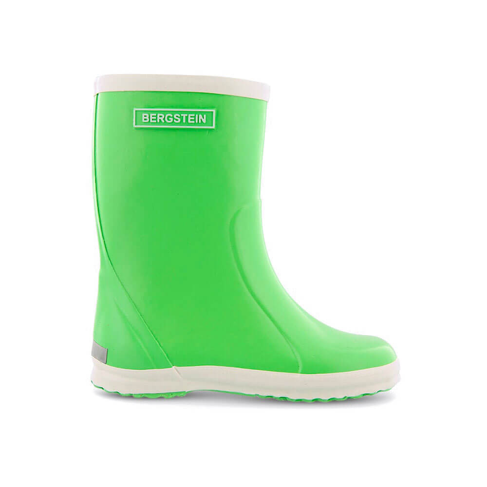 Bergstein Gumboots Lime Green side
