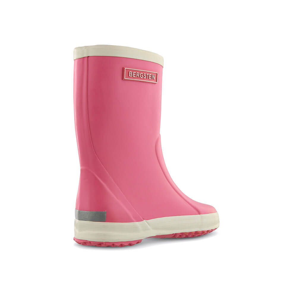 Bergstein Gumboots Pink back right