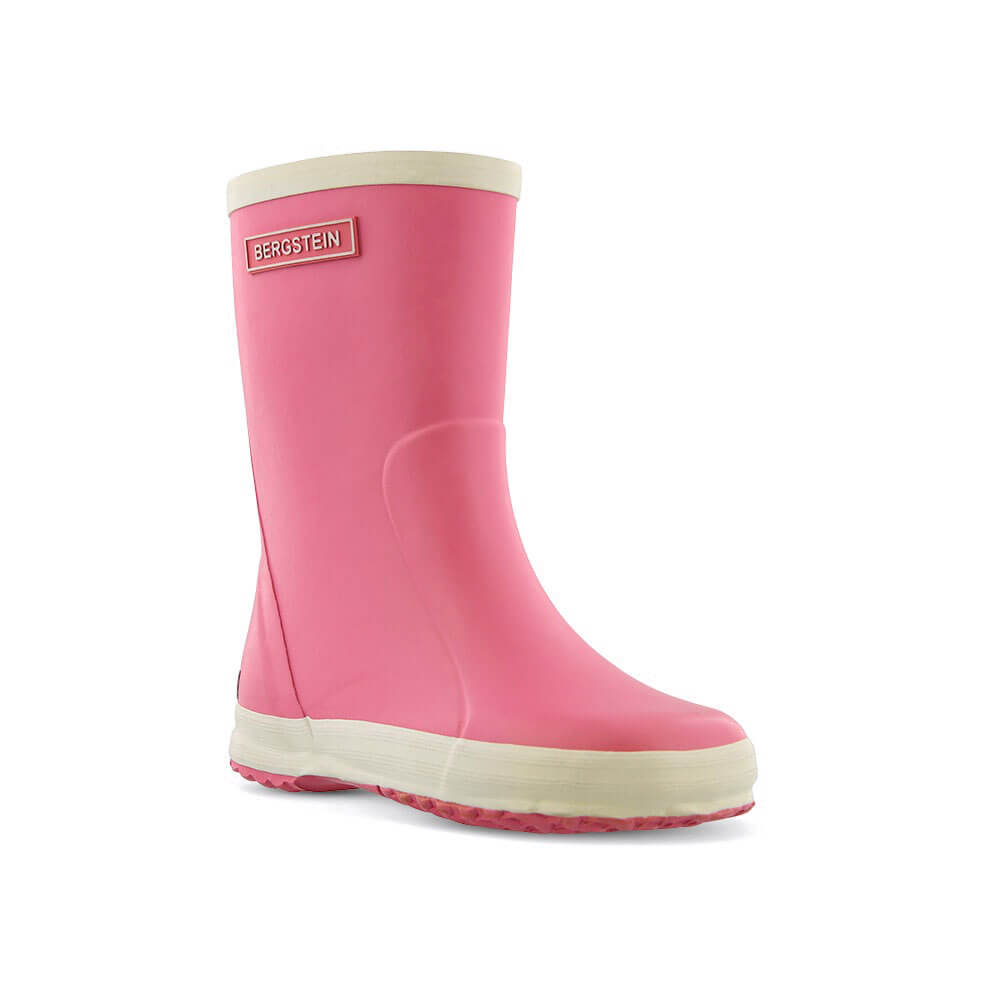 Bergstein Gumboots Pink front right