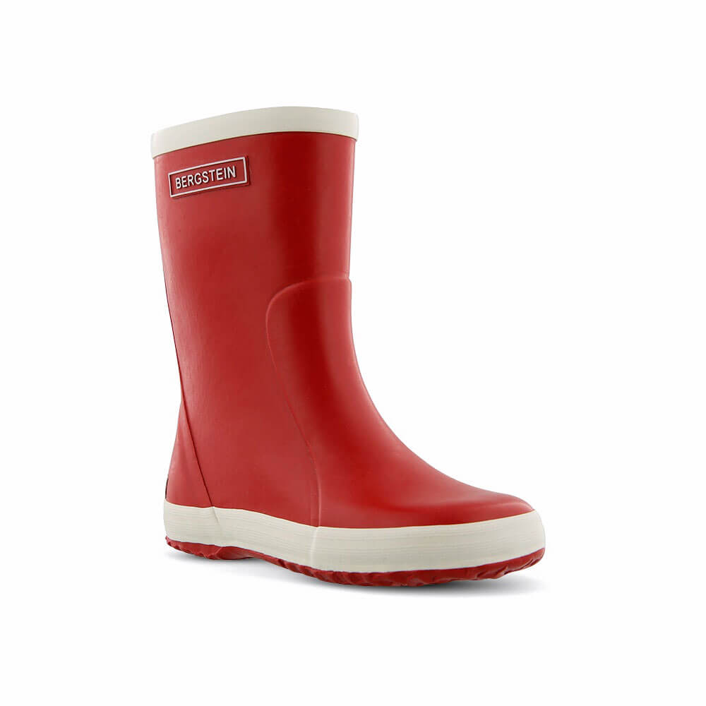 Bergstein Gumboots Red front right