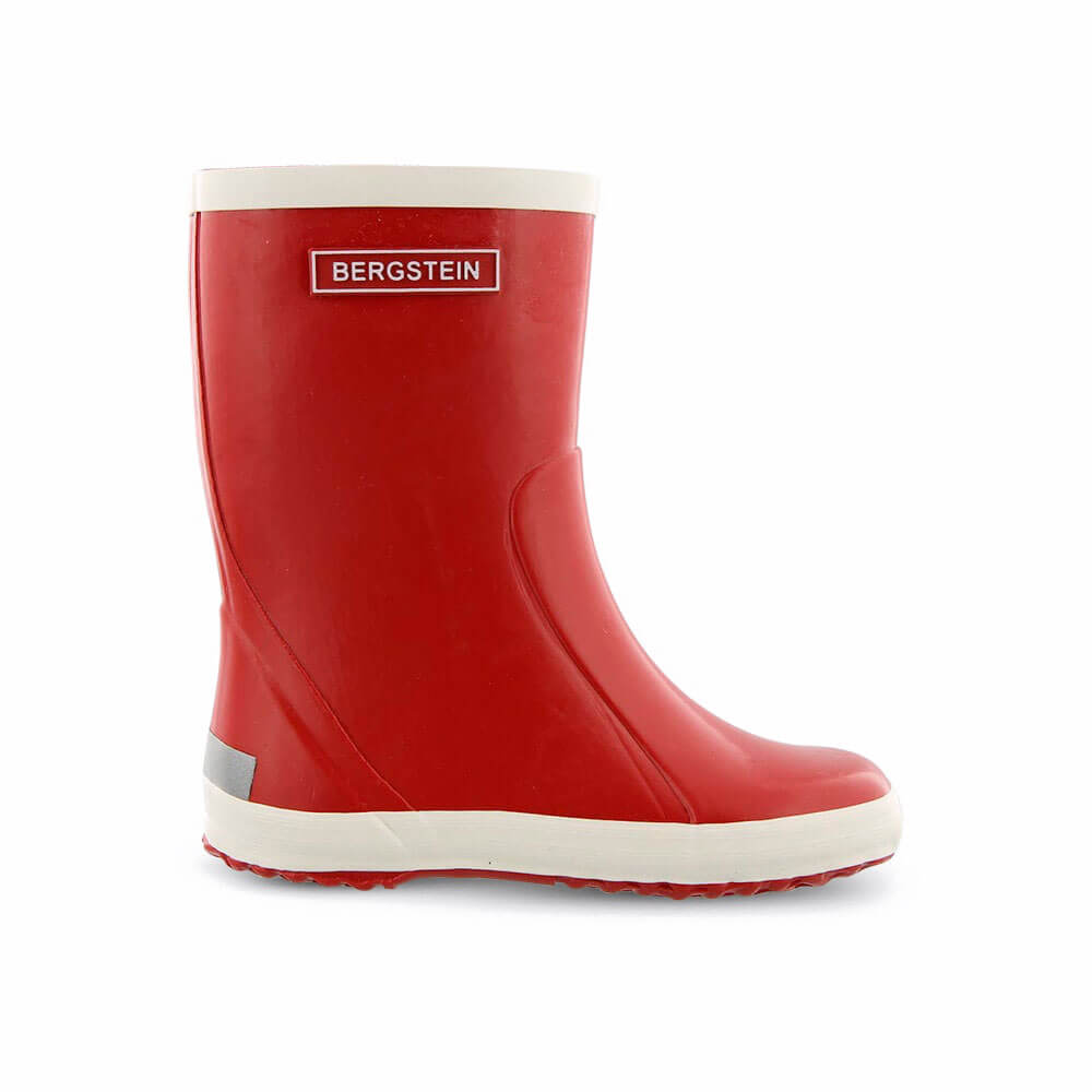 Bergstein Gumboots Red side