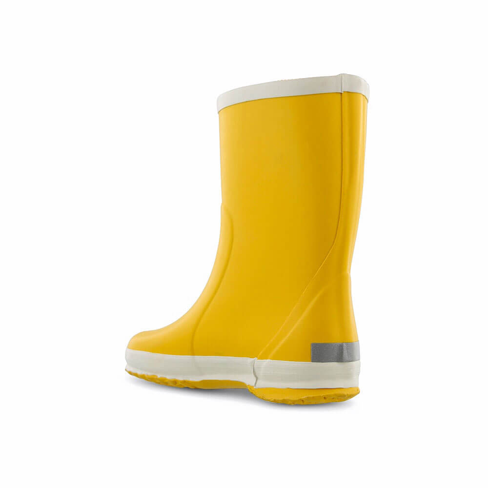 Bergstein Gumboots Yellow back left
