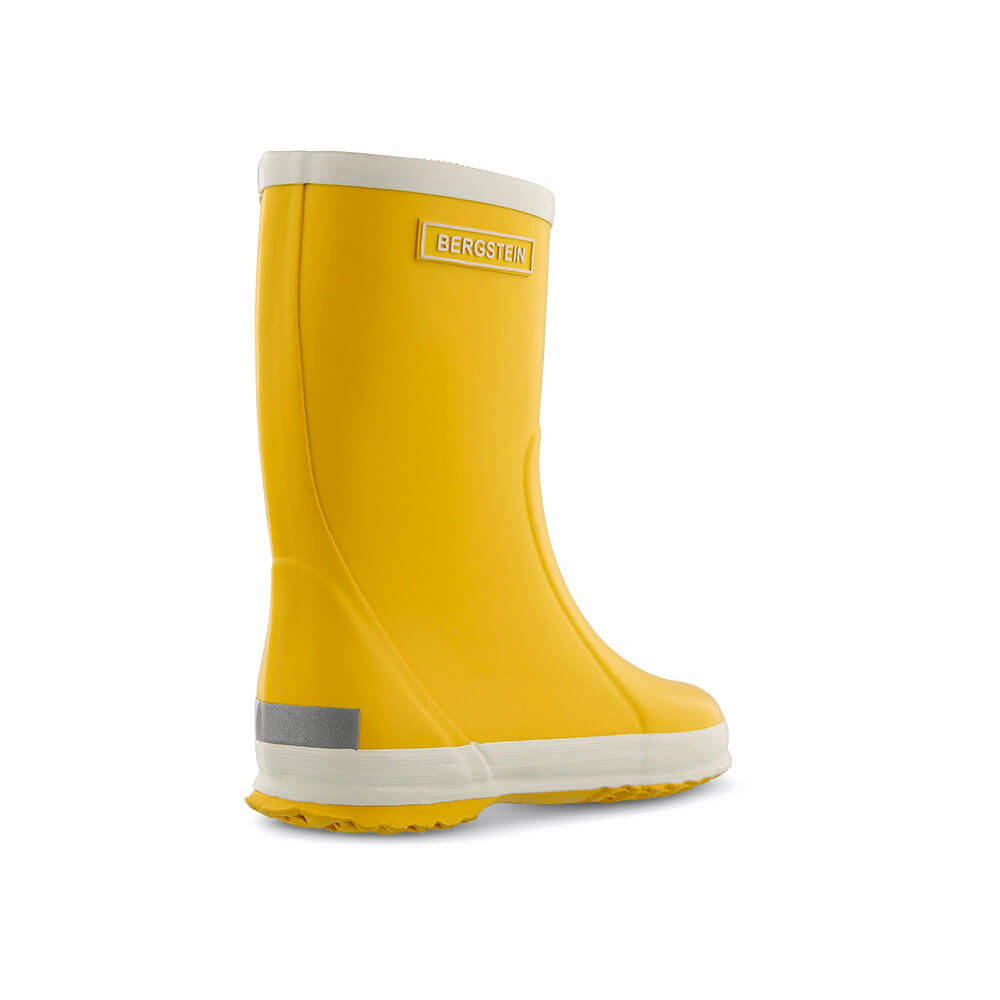 Bergstein Gumboots Yellow back right