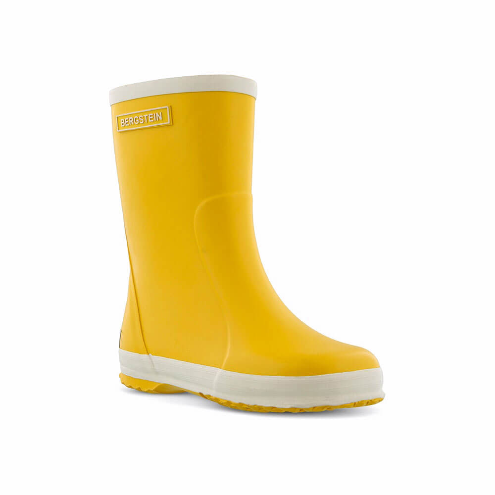 Bergstein Gumboots Yellow front left