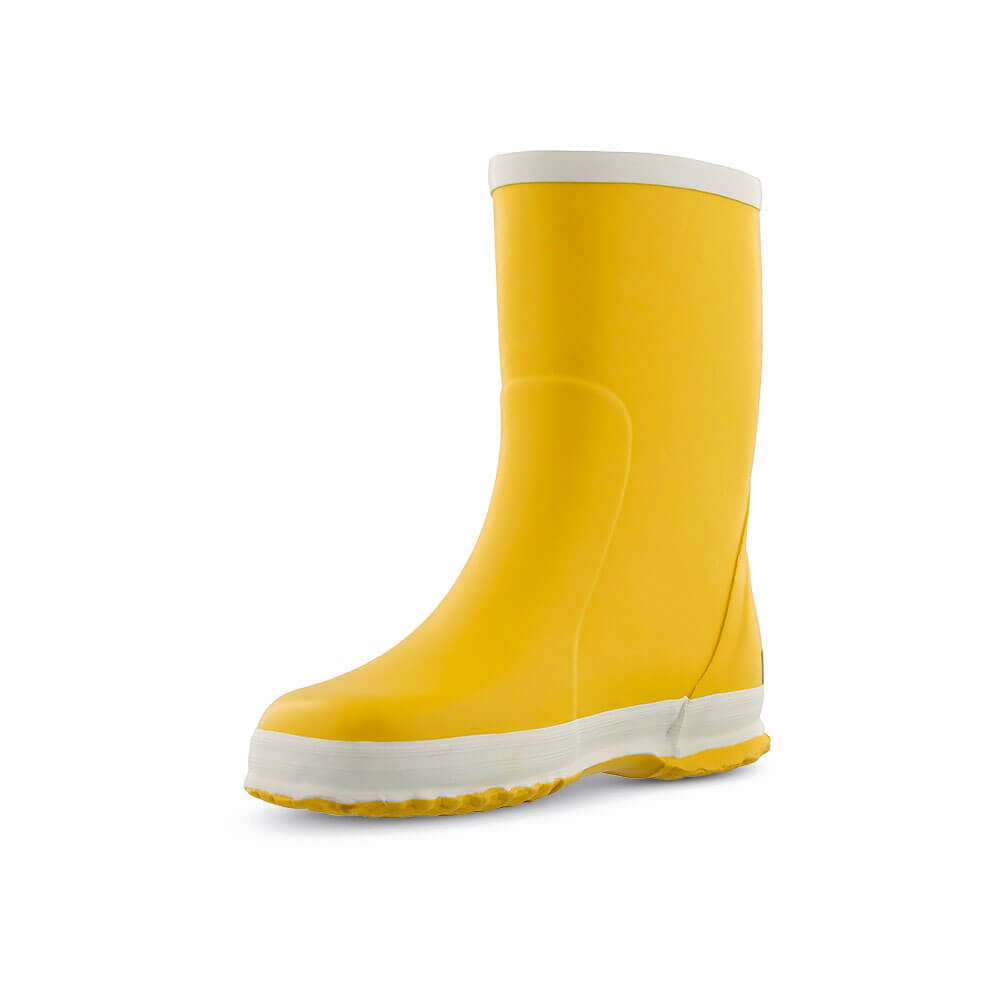 Bergstein Gumboots Yellow front right