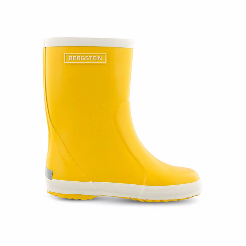 Bergstein Gumboots Yellow side
