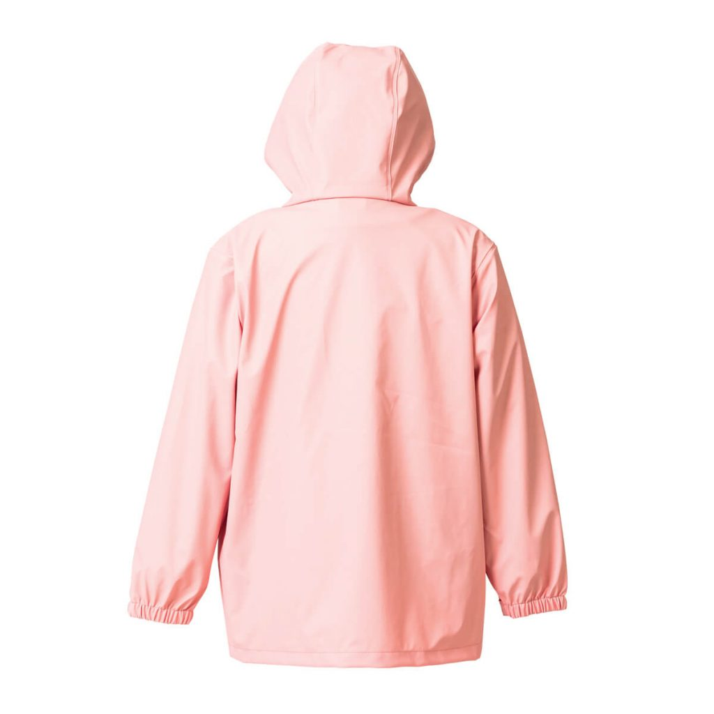 Crywolf blush rear play jacket rain