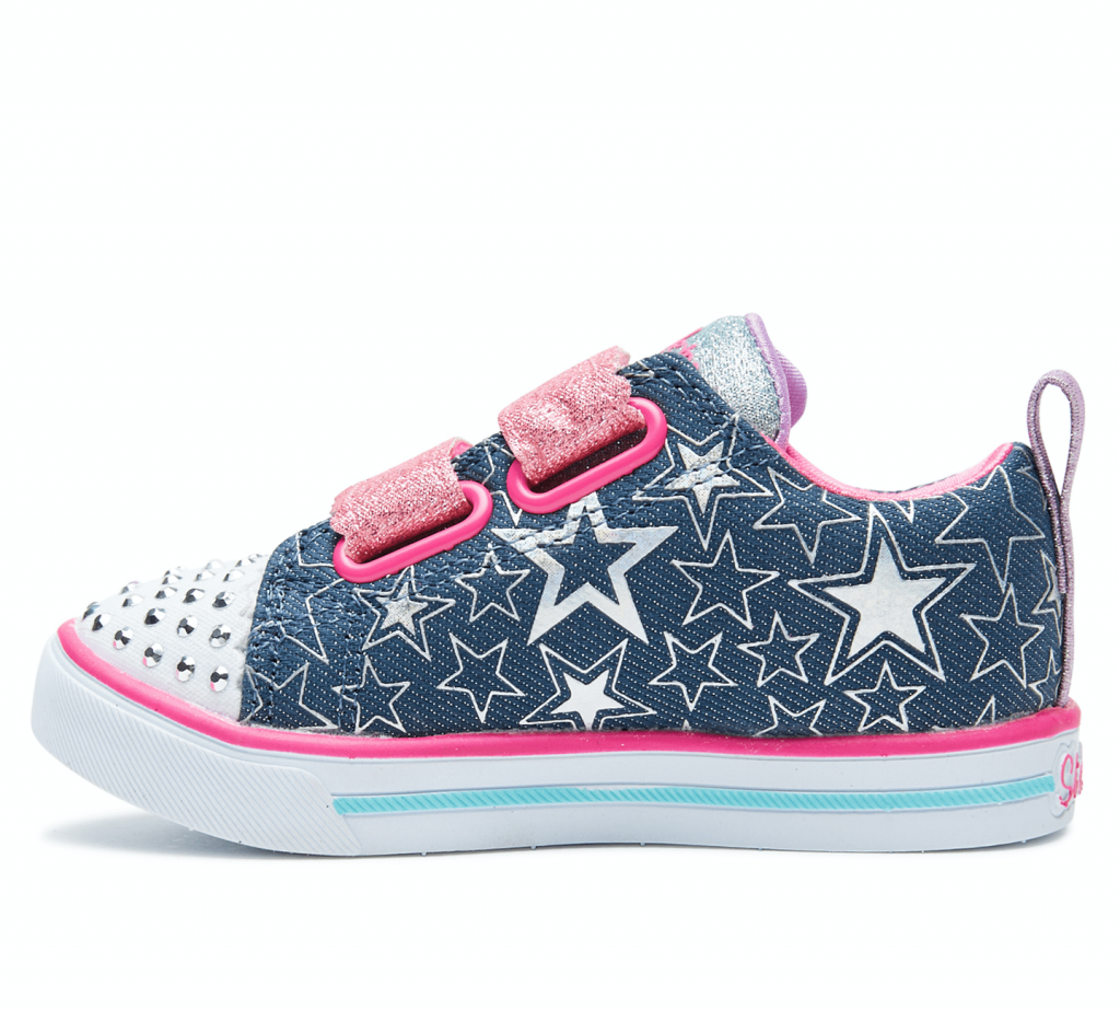 DENIM-KIDS-GIRLS-SKECHERS-FOOTWEAR