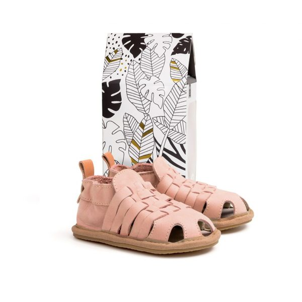 Pretty Brave Riley Sandals - Pink Quartz | Camino Kids AU
