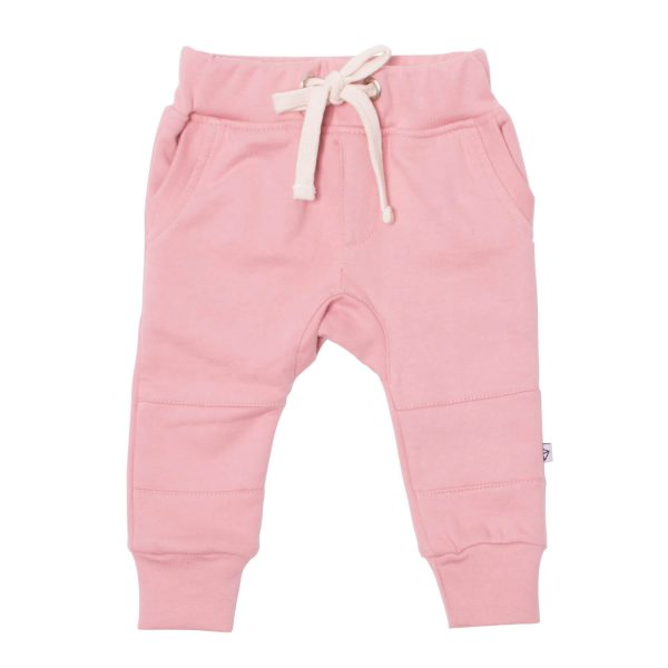 Neon Kite Kids Baby Trackies Knee Patch Melon