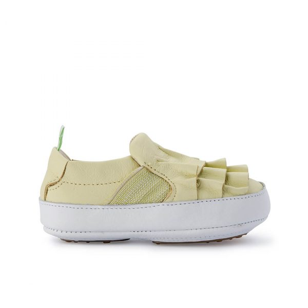 Tip Toey Joey Flamenky Sneaker – Lime side