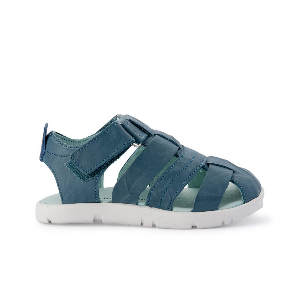 Tip Toey Joey Little Baiao Sandal – Neptune Crush side
