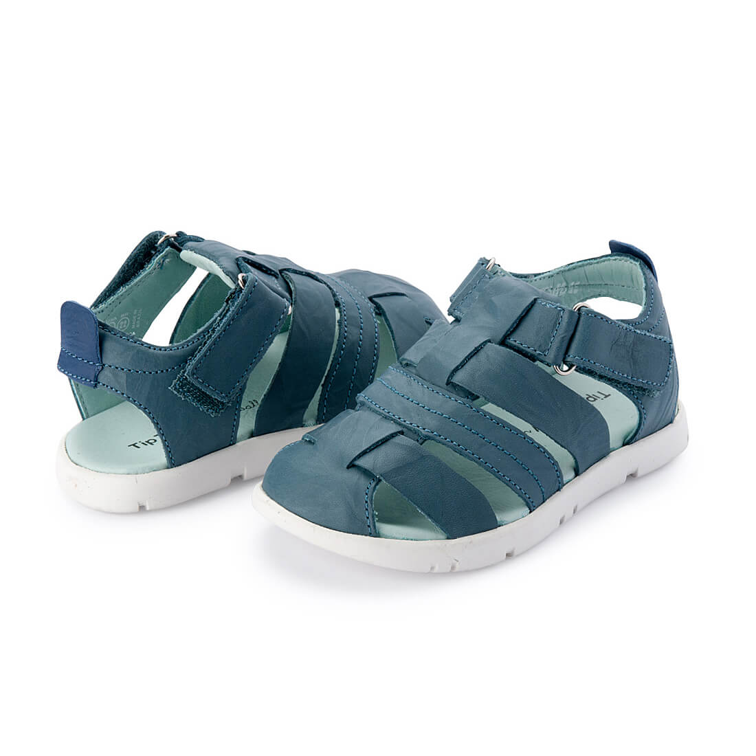 Tip Toey Joey Little Baiao Sandal – Neptune Crush angle
