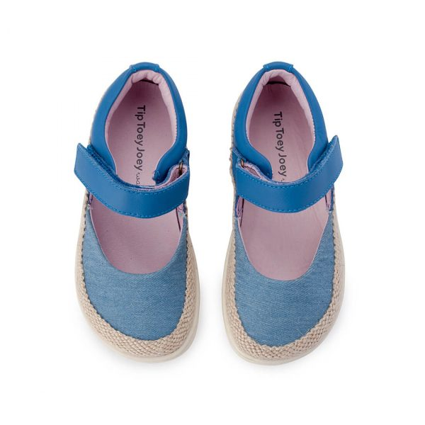 Little Seaside Sandals - Denim Espadrille top