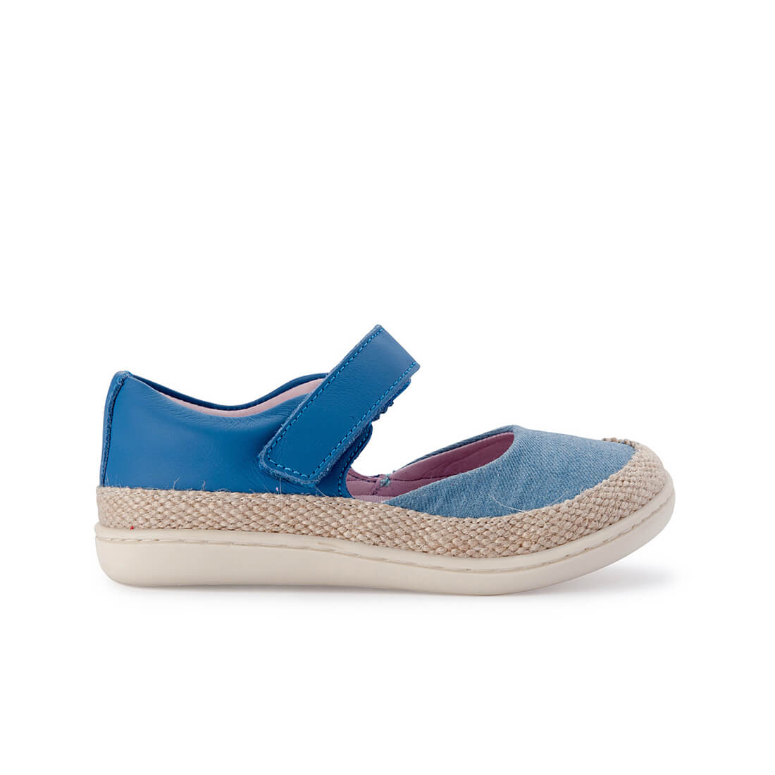 Little Seaside Sandals - Denim Espadrille side