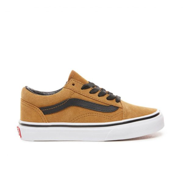 32b6d63445 ... Vans Kids Old Skool V Shoes - Cumin   Black (5+ yrs) -