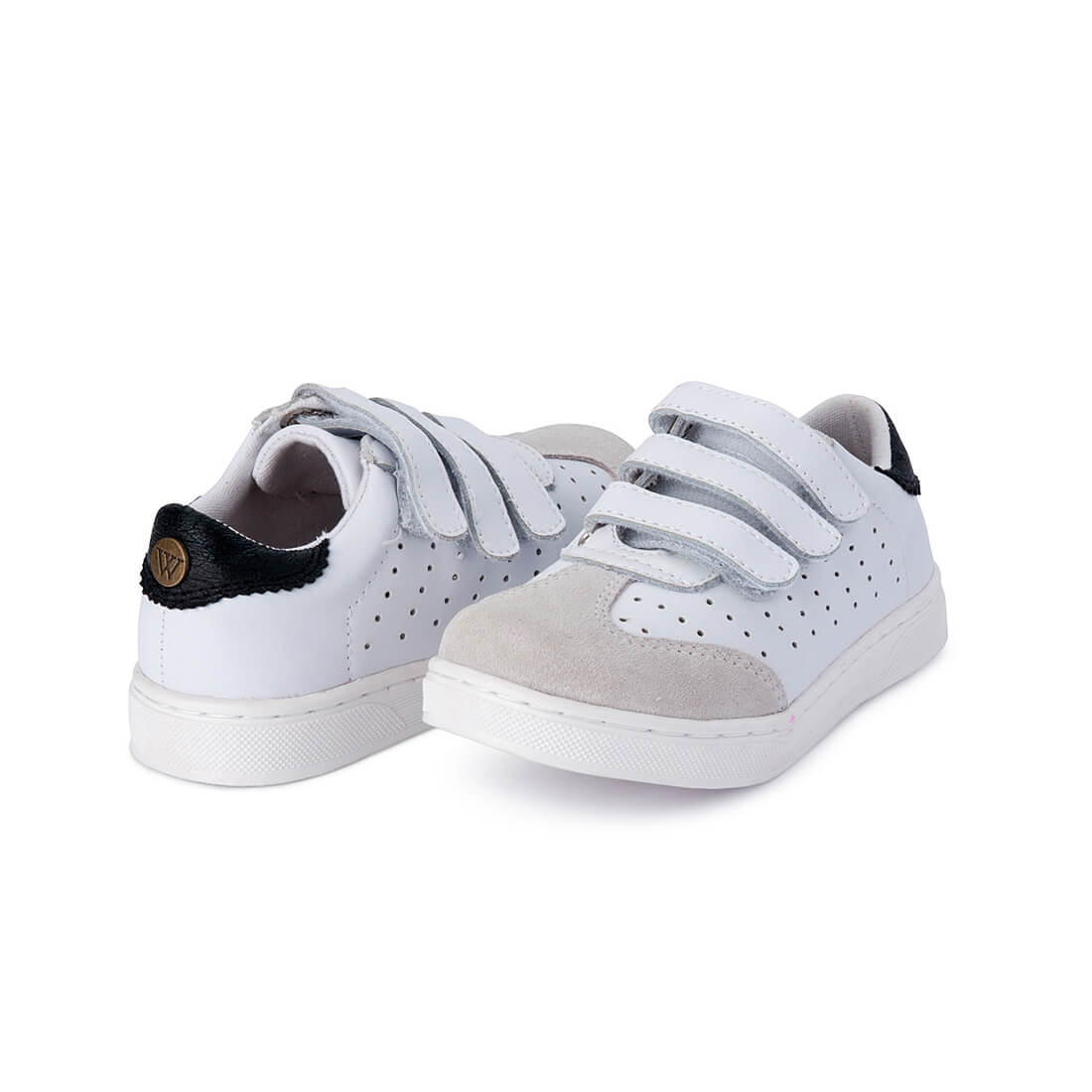 Andy Leather Sneaker - White angle