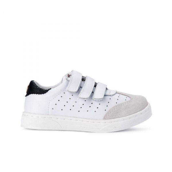 Andy Leather Sneaker - White side