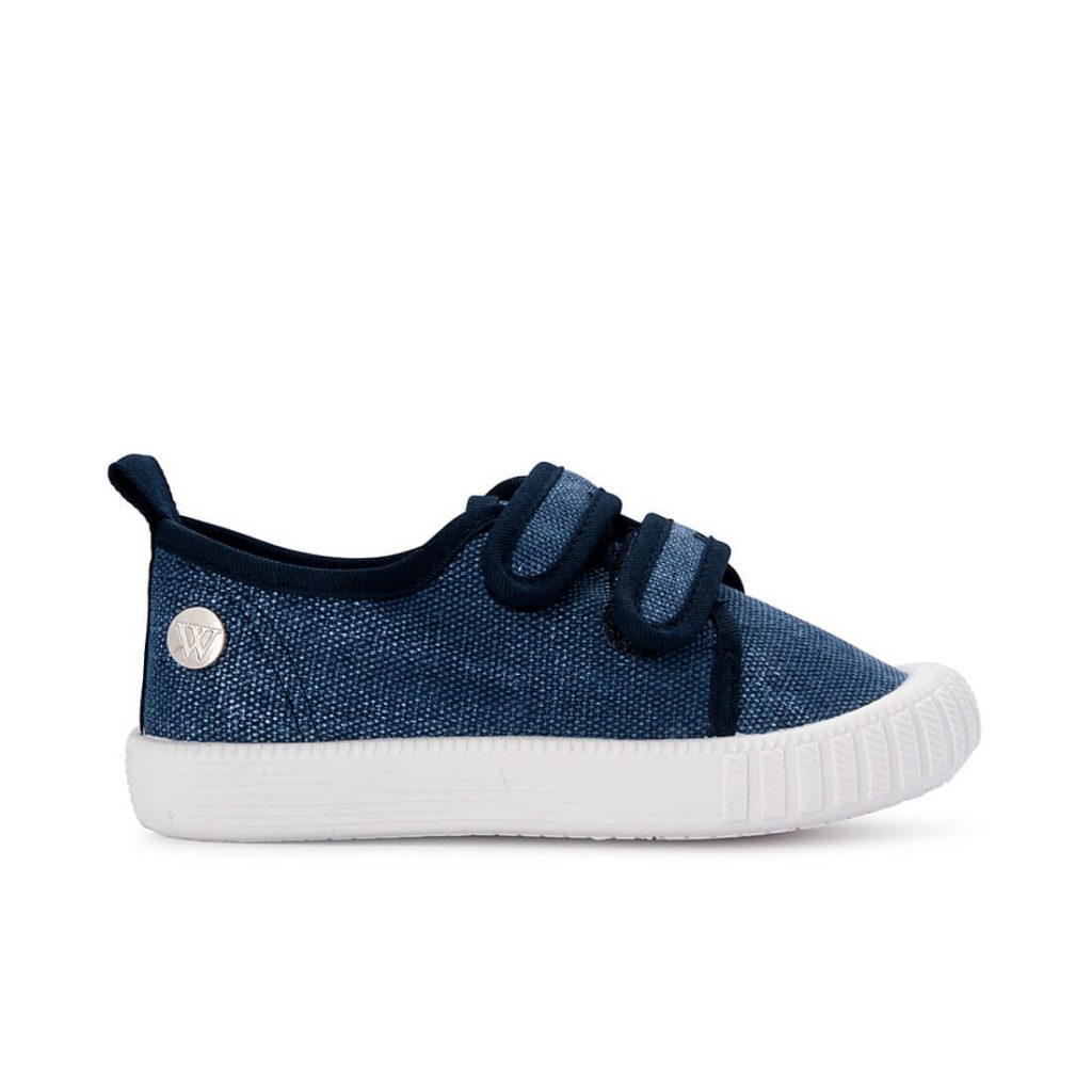 Classic Ben Canvas - Washed Navy Denim side