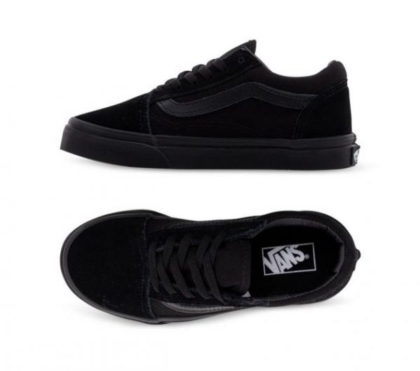 Vans Old Skool Shoes Black on Black
