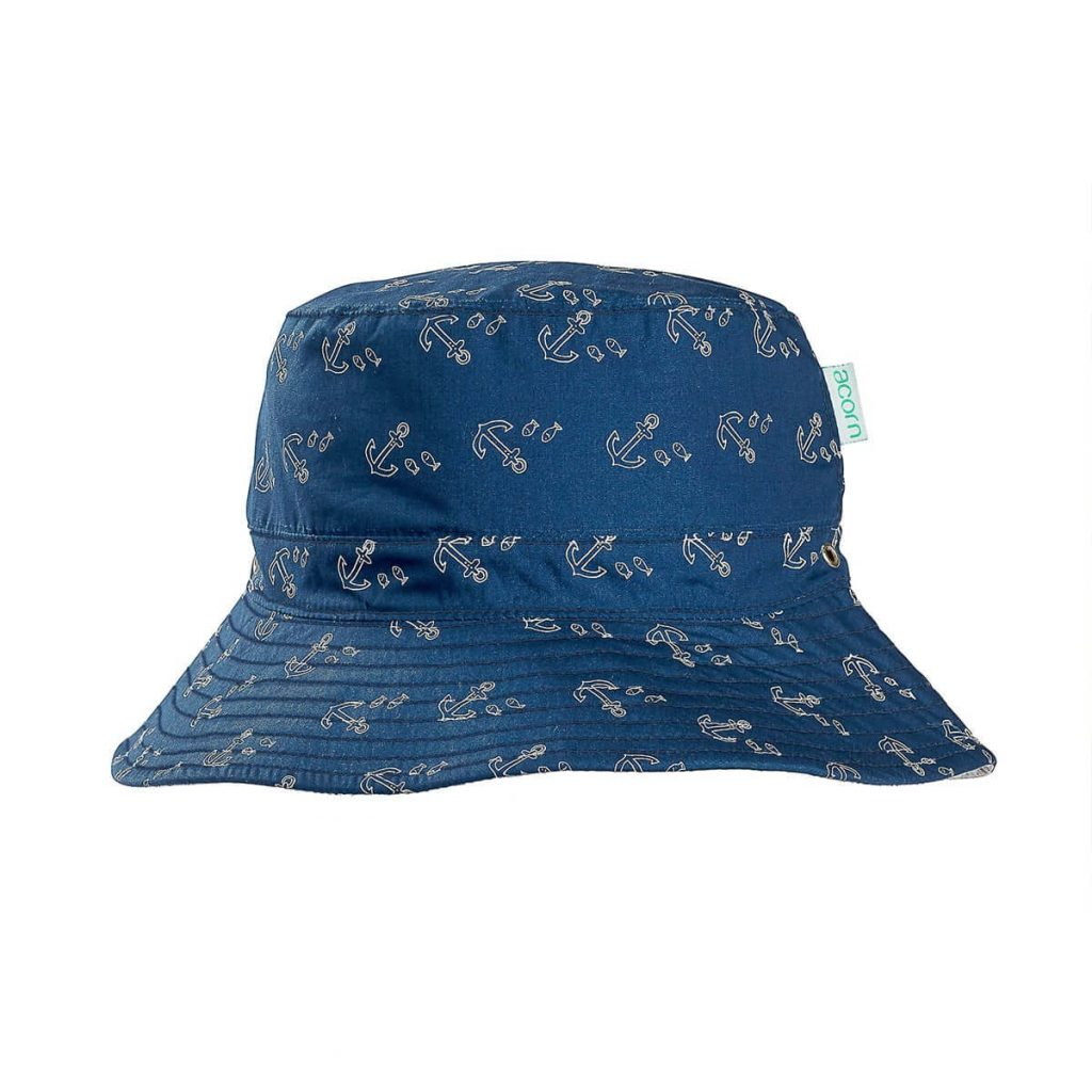 Acorn Kids Anchors Bucket Hat