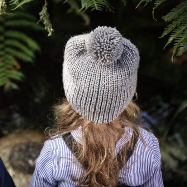 Acorn Kids Campside Beanie Grey Lifestyle