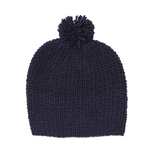 Acorn Kids Campside Beanie Navy Flat