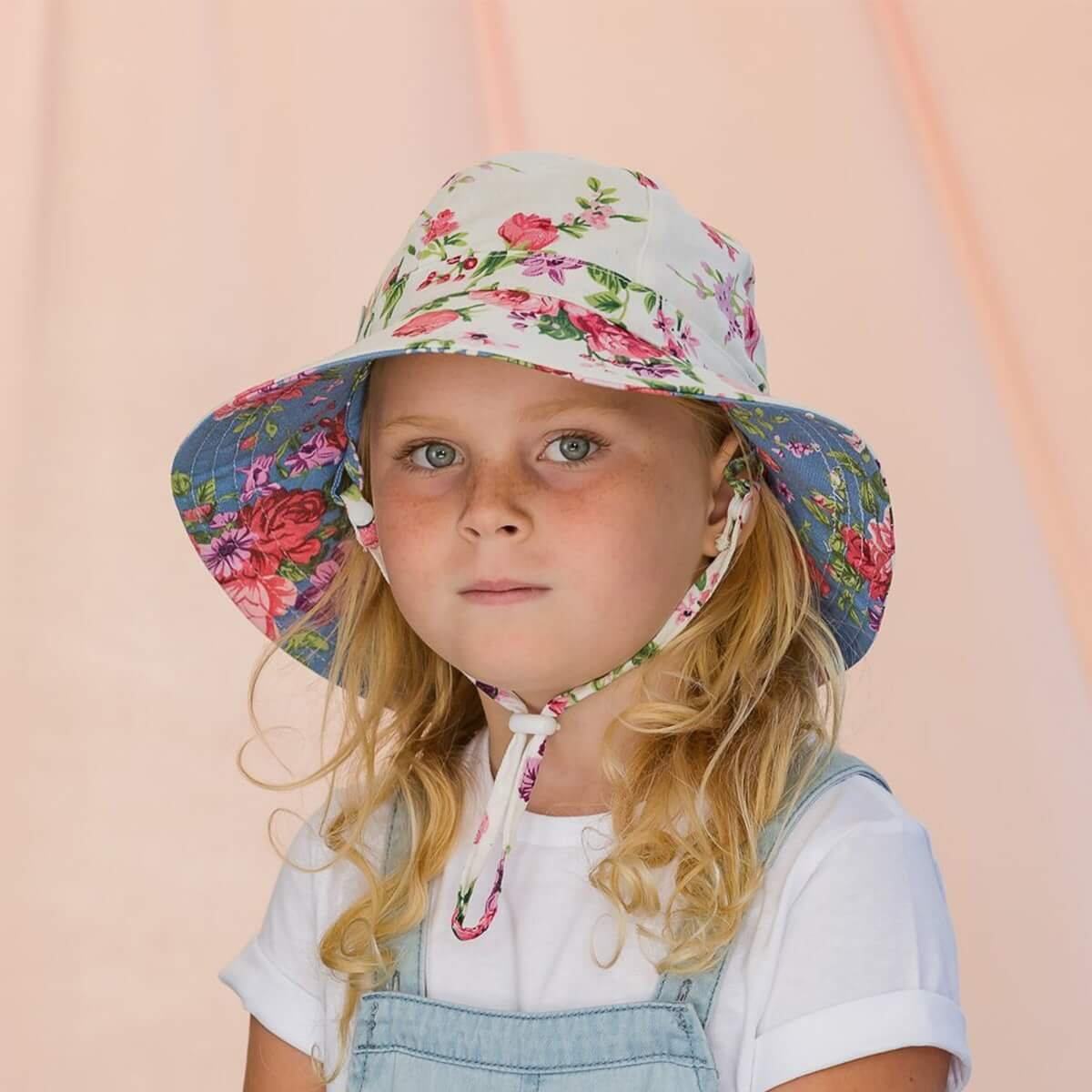 Acorn Kids In Full Bloom Reversible Hat
