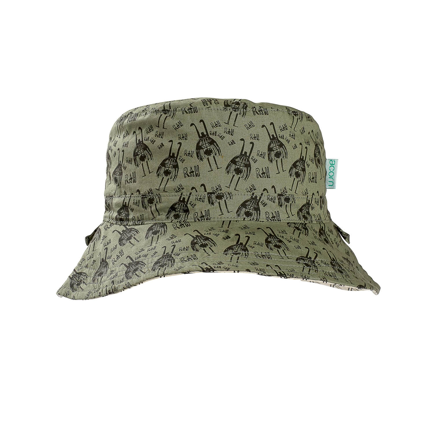 Acorn Kids Rah Reversible Bucket Hat