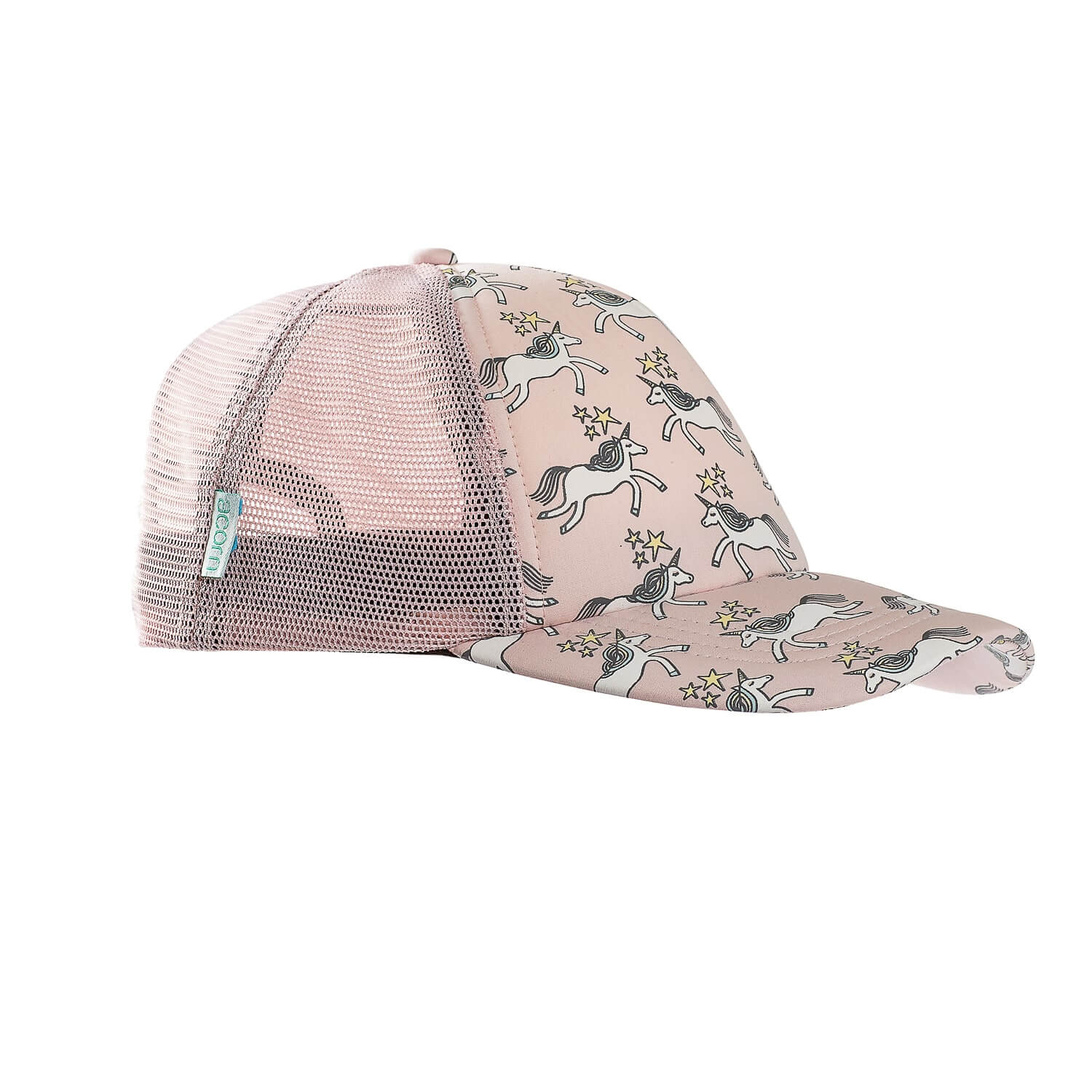 Acorn Kids Unicorn Trucker Hat