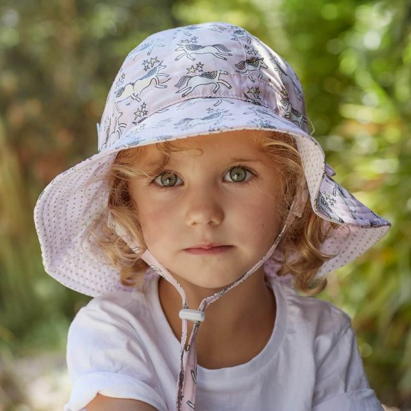Acorn Kids Unicorns Reservable Hat Lifestyle