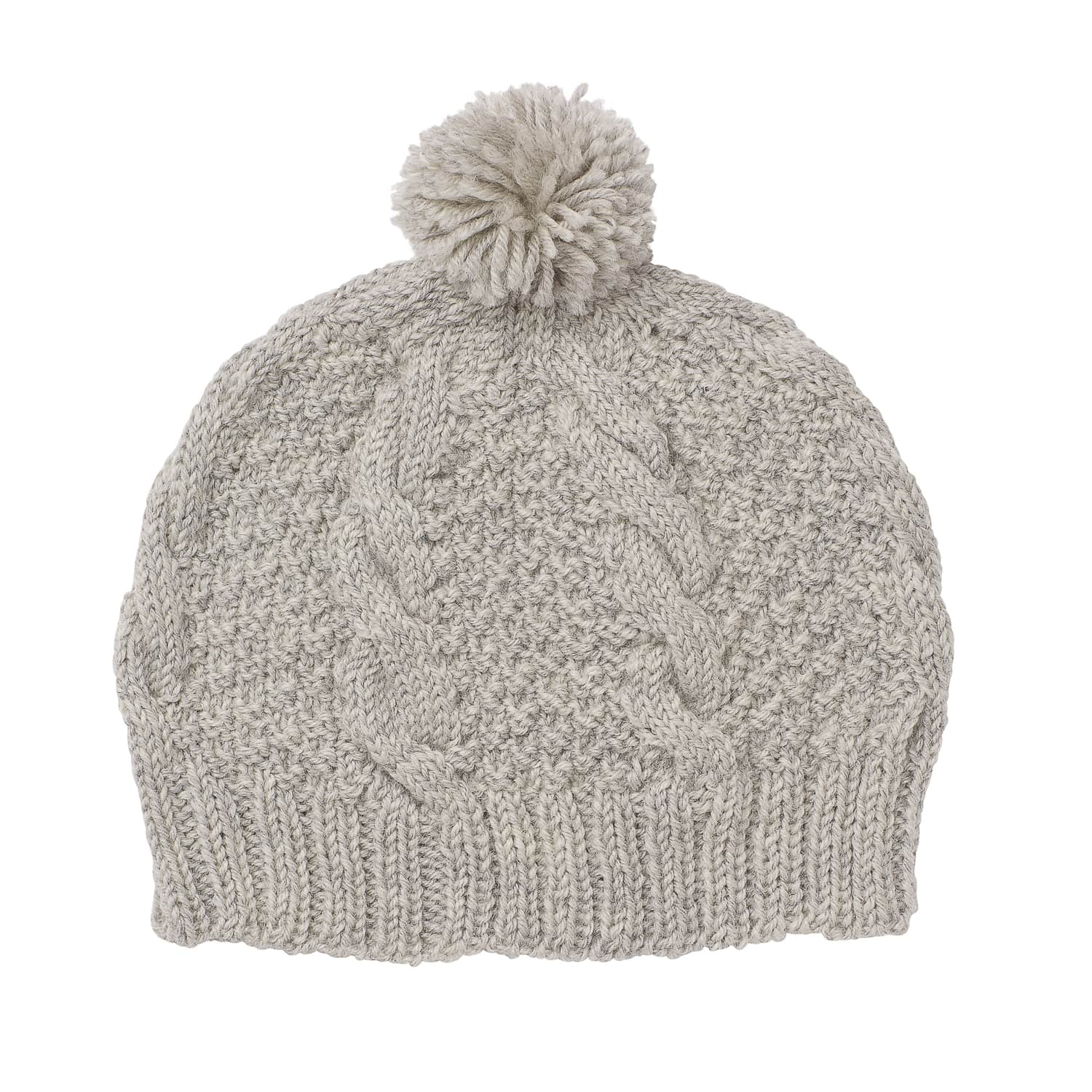 Acorn Kids Vines Beanie Grey Flat