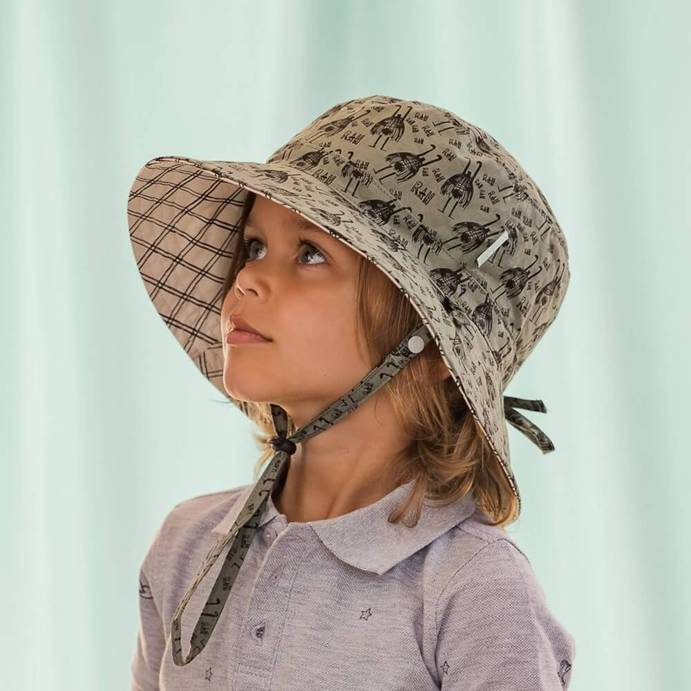 Acorn Rah Bucket Hat Reversible