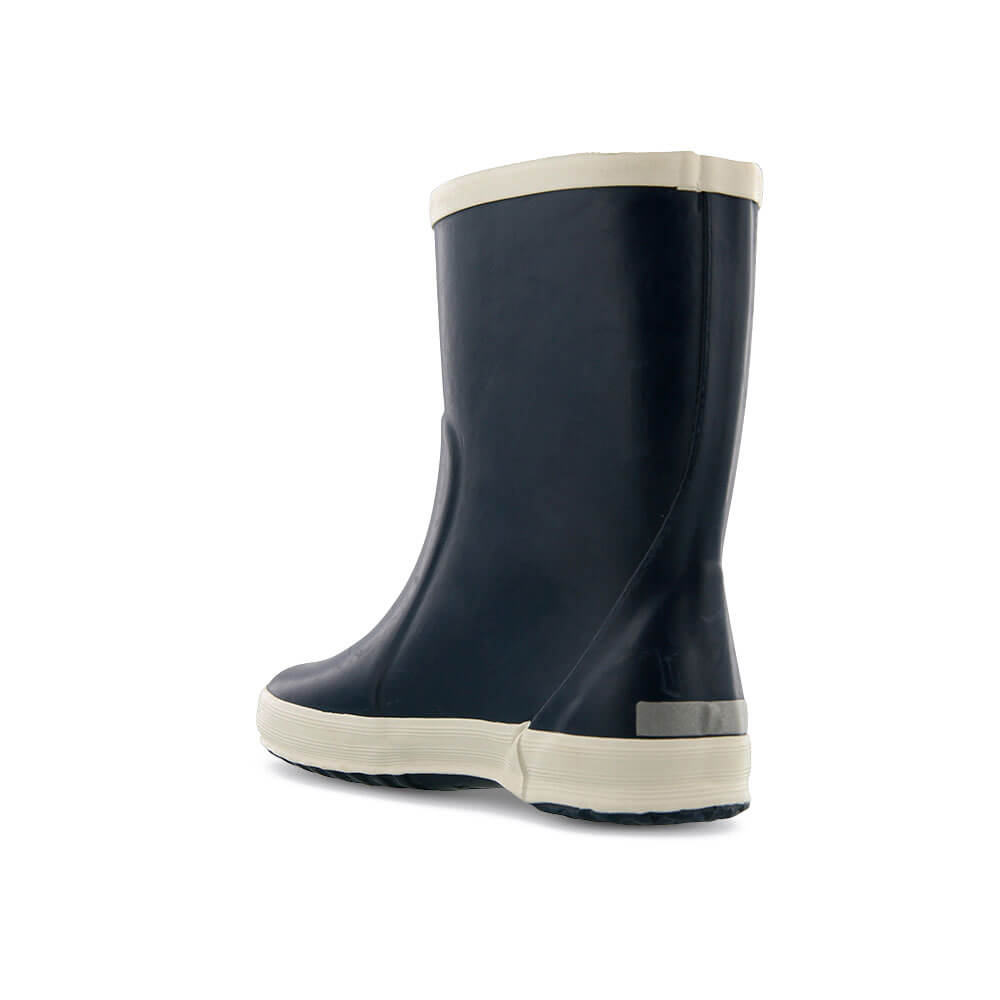 gumboots navy back left